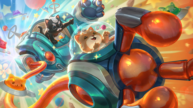 COMBATTI E BALLA IN LEAGUE OF LEGENDS SEGUENDO IL RITMO SPAZIALE