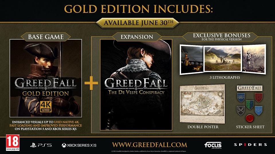 GreedFall: Gold Edition arriverà il 30 giugno
