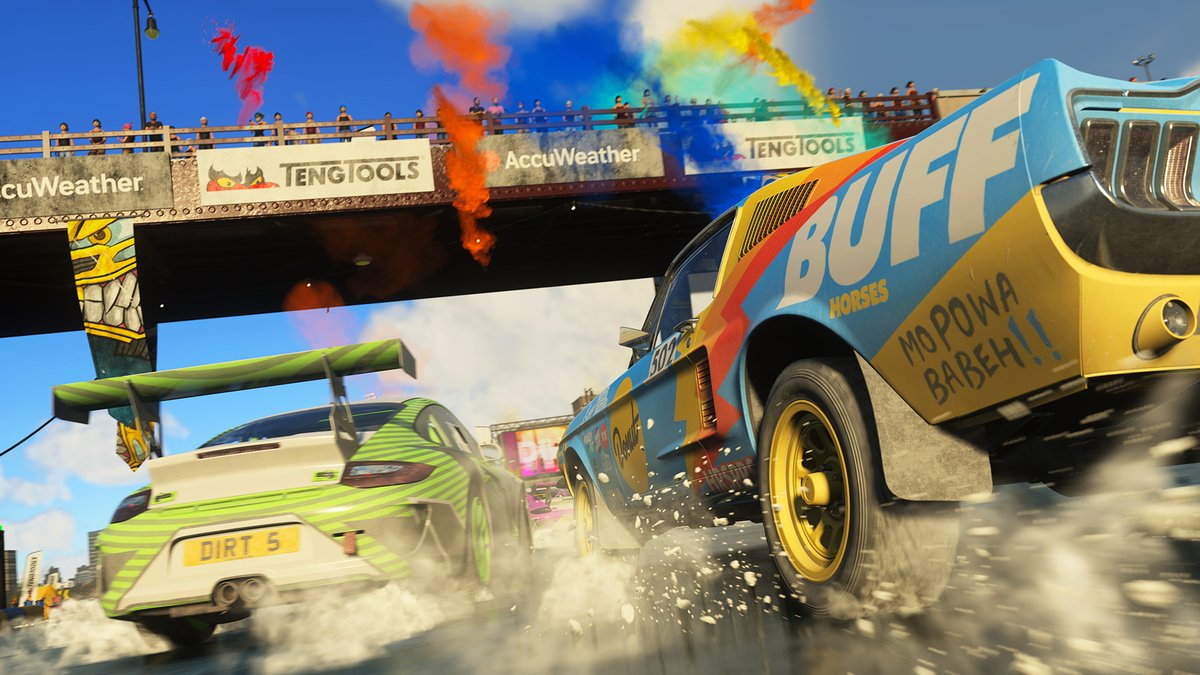 DAVID SPRINGATE, TECHNICAL DIRECTOR DIRT 5, PARLA DELLA VERSIONE PS5