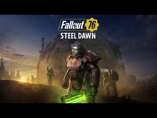 Fallout 76: Alba d'acciaio trailer