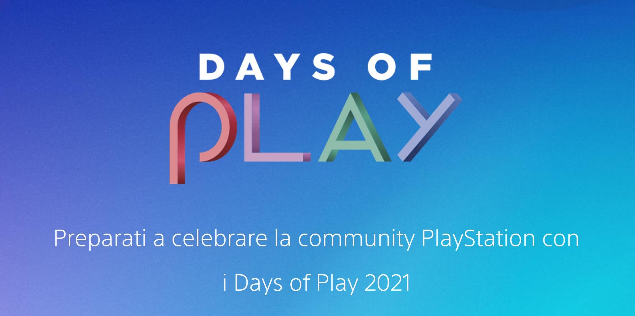 Days of Play 2021: tante offerte per la community PlayStation