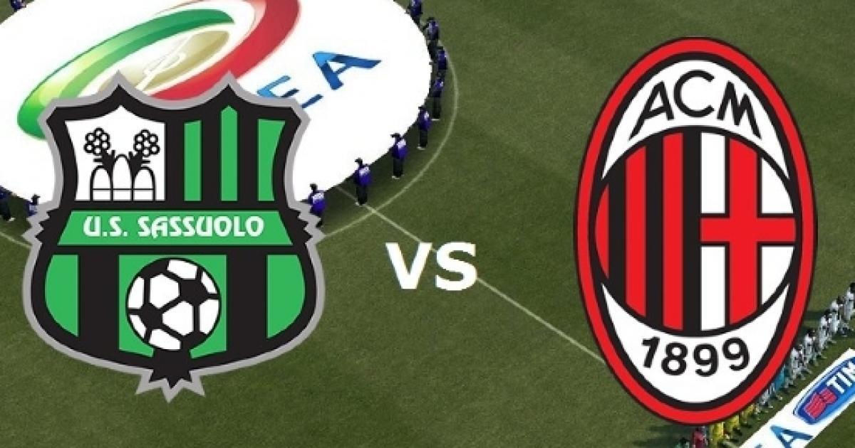Sassuolo - Milan. TV Streaming, Pronostico, Formazioni e Statistiche