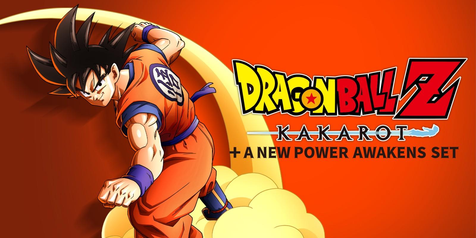 DRAGON BALL Z: KAKAROT + A NEW POWER AWAKENS SET DISPONIBILE