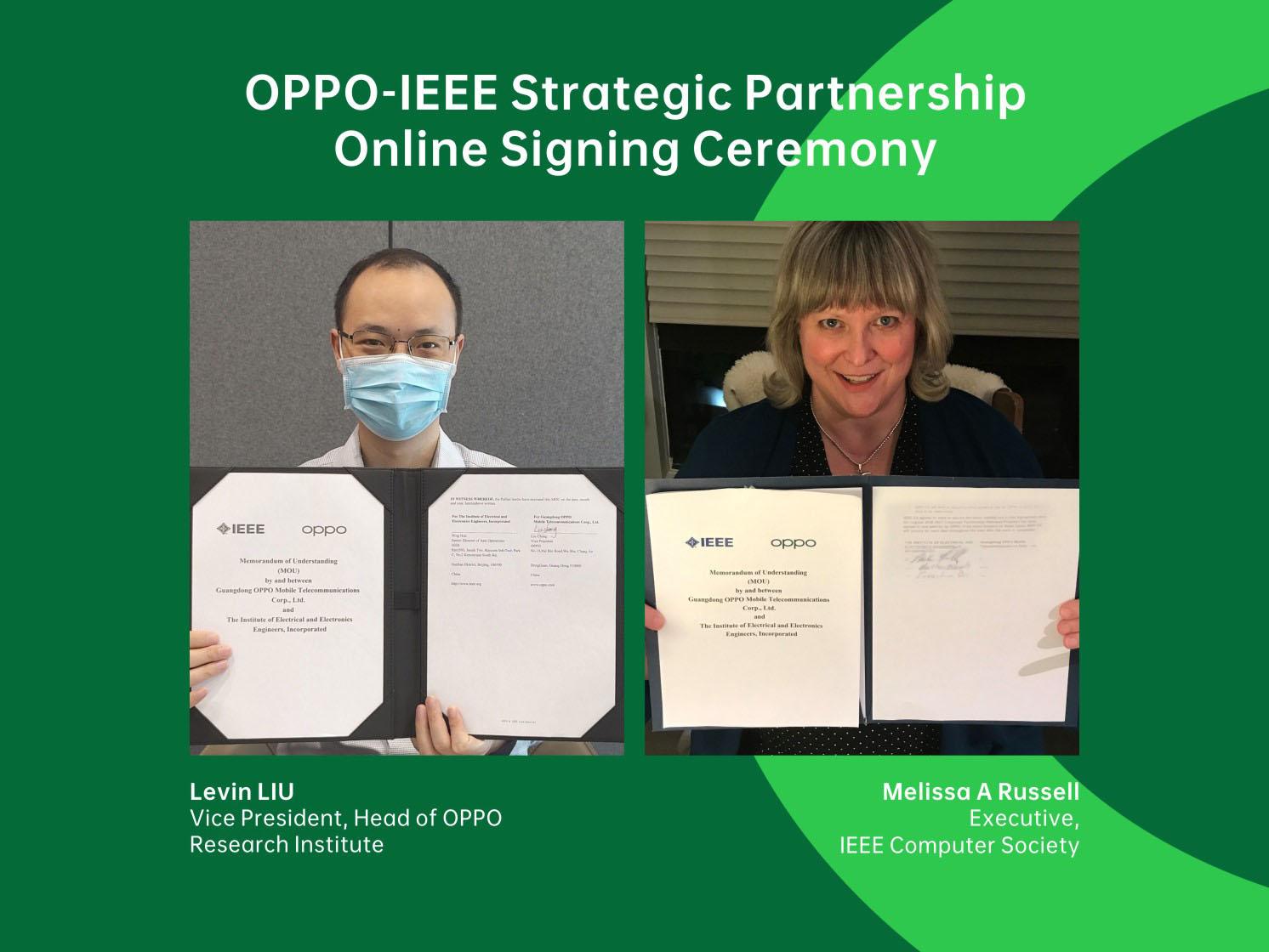 OPPO stringe una partnership con IEEE