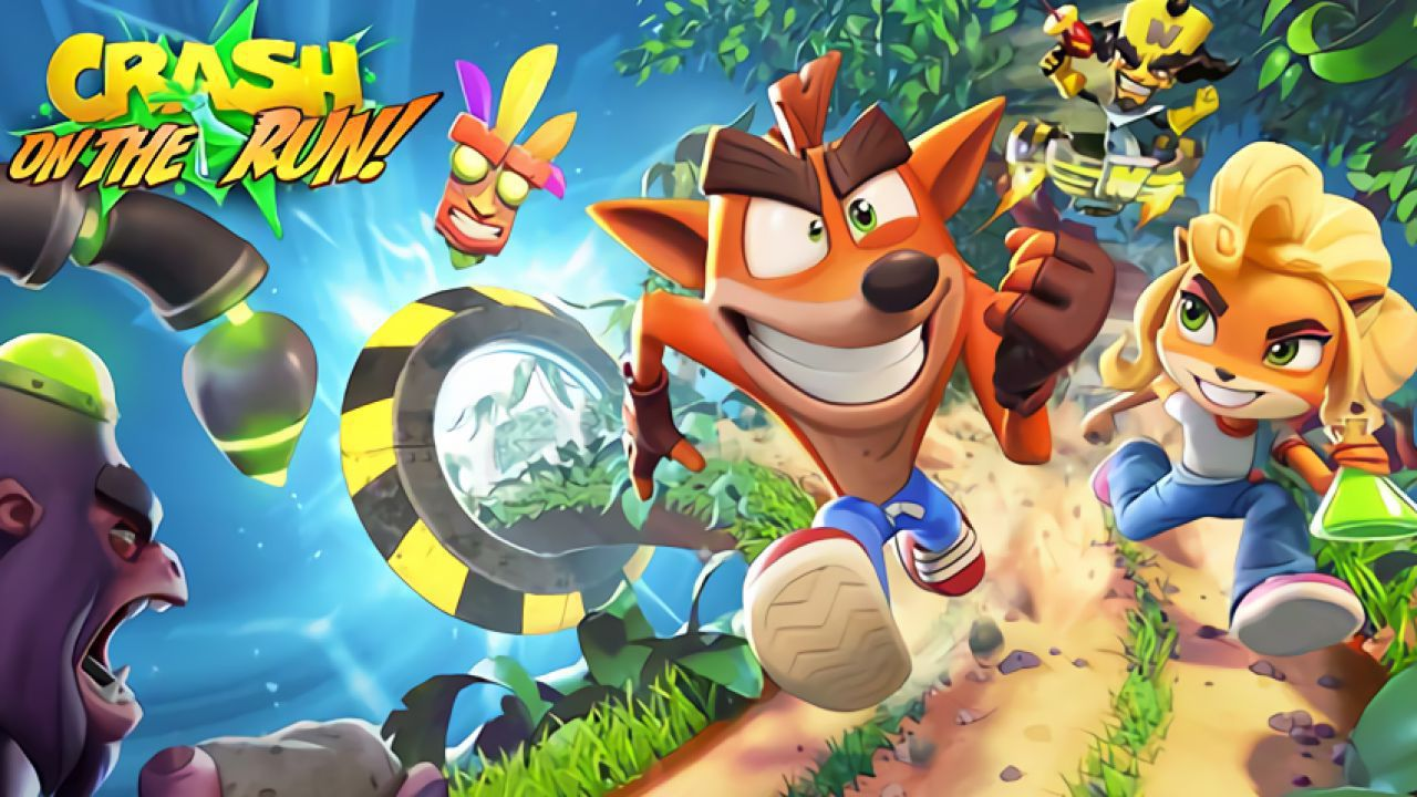 Crash Bandicoot On the Run Recensione Android