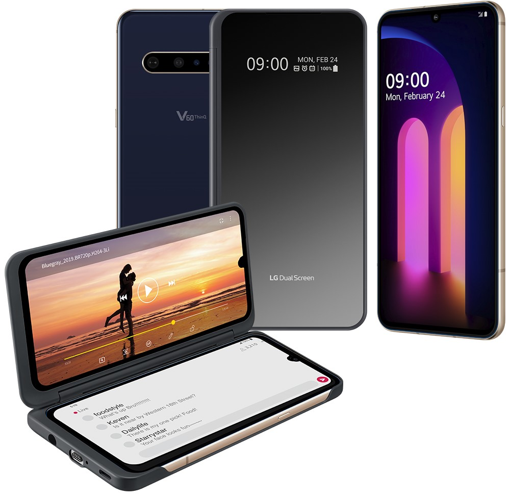 Arriva in italia lg v60 thinq 5g
