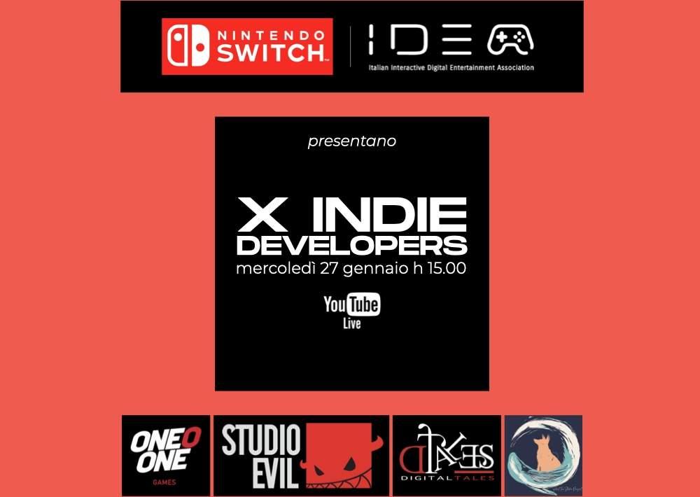 Nintendo dà voce alle sviluppatrici indipendenti