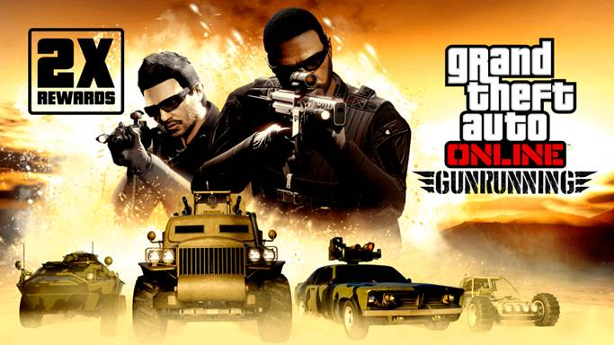 GTA Online: Ricompense doppie nel Traffico d'armi