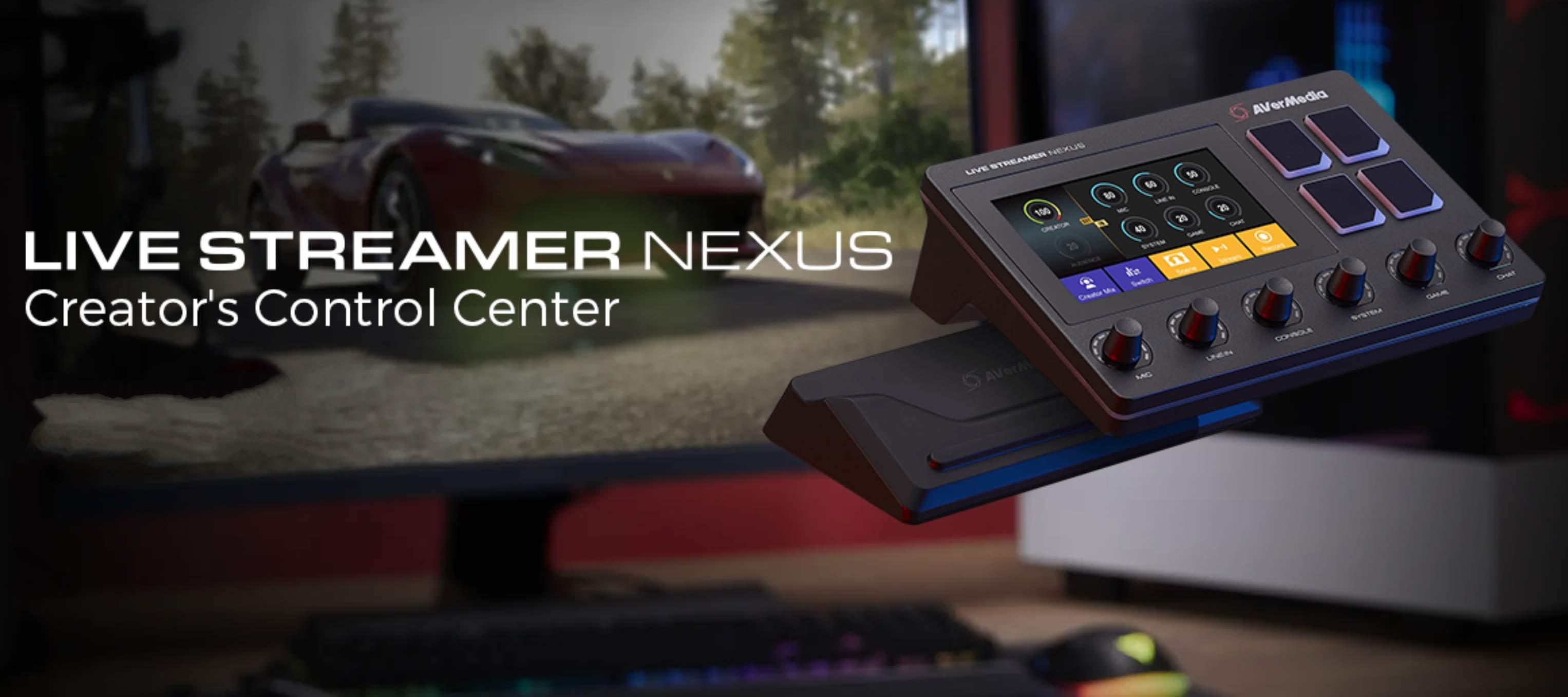 AVerMedia lancia Live Streamer NEXUS e MIC 330