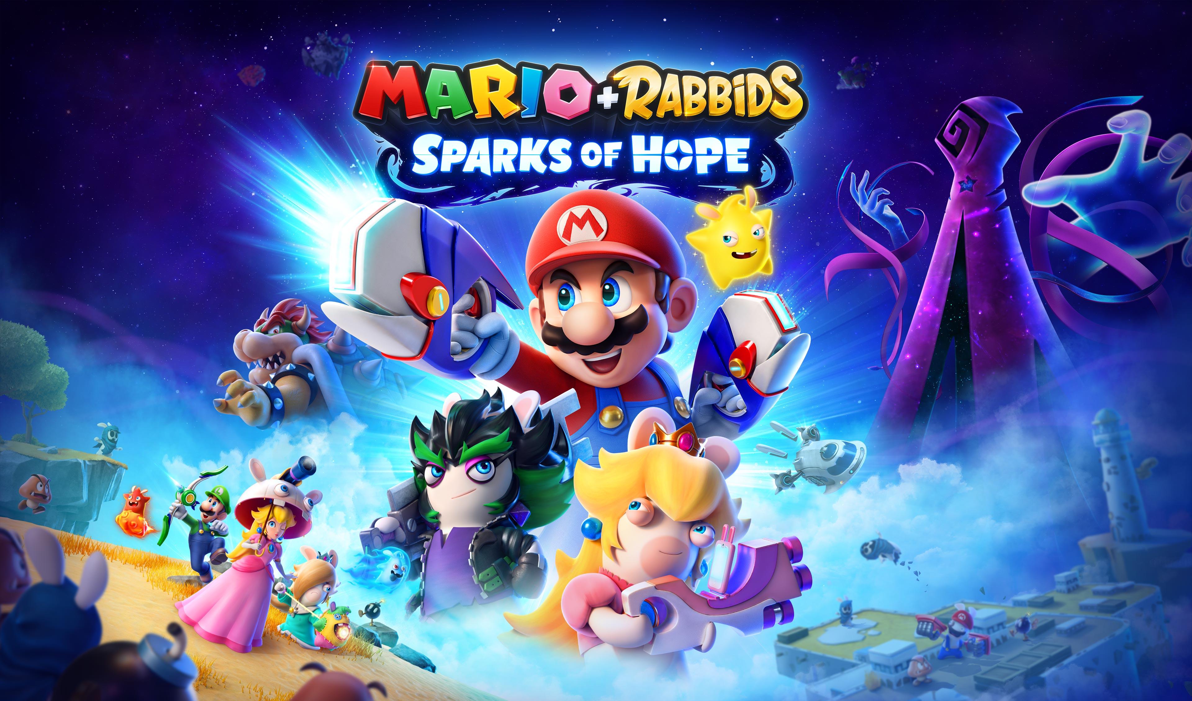 Mario, Rabbid Peach e i loro amici torneranno nel 2022