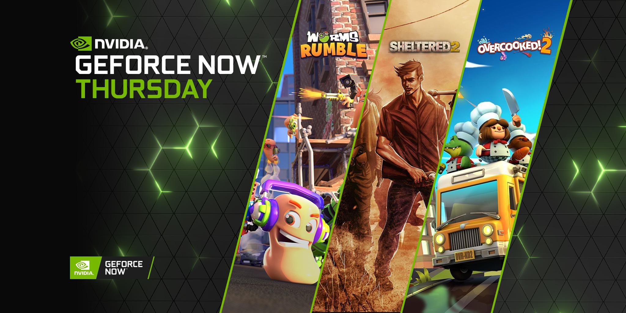 GeForce NOW: arrivano 12 nuovi giochi