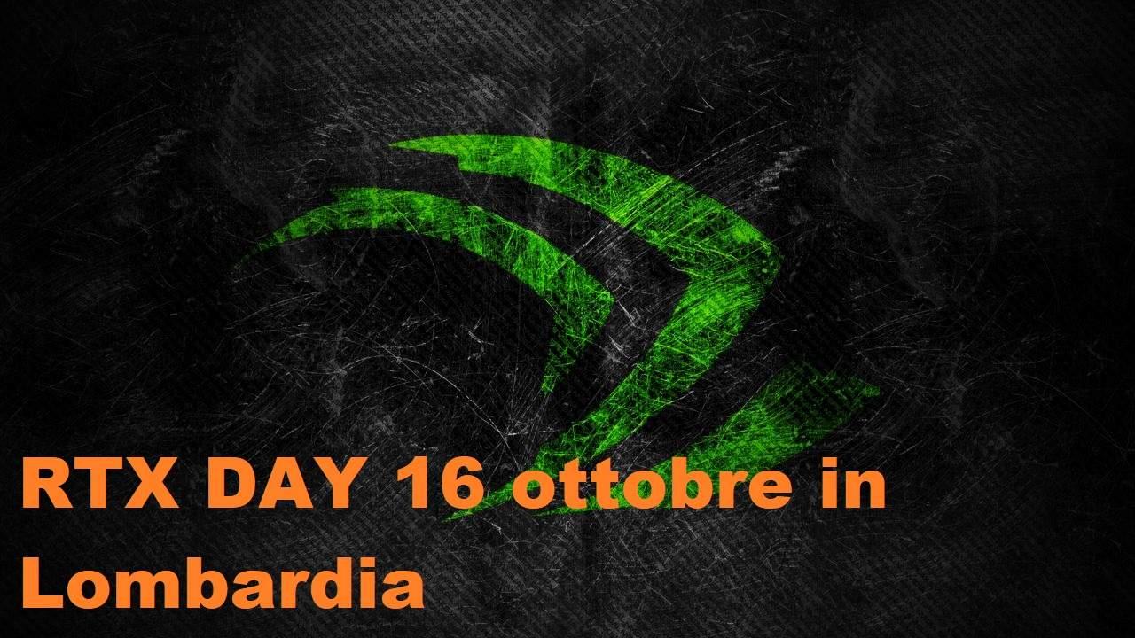 RTX DAY in arrivo: sabato 16 ottobre in Lombardia