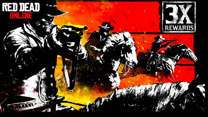 Red Dead Online: ricompense triple nelle gare a cavallo