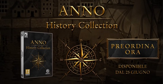 Ubisoft annuncia la Anno History Collection