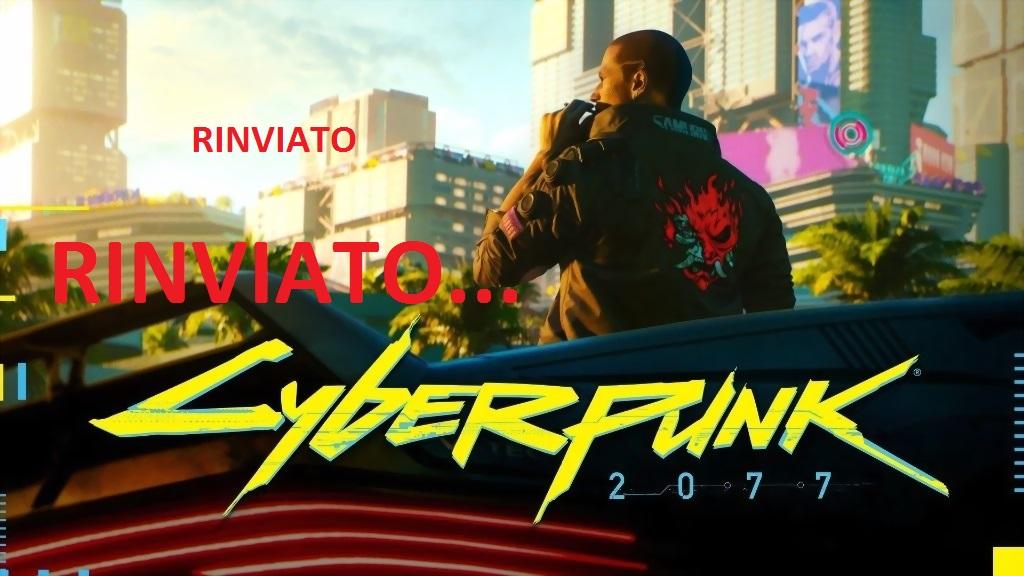 Cyberpunk 2077 rinviato al 19 novembre