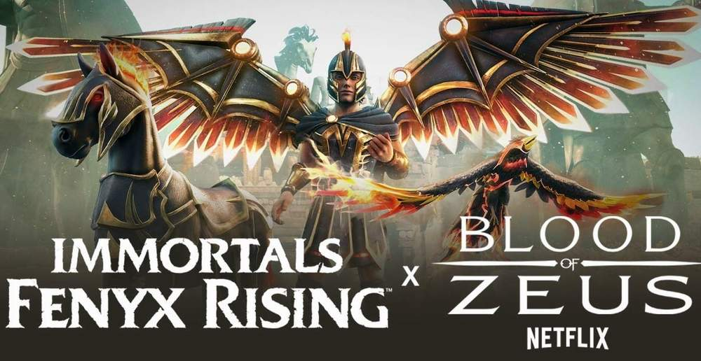 "LA SERIE ""BLOOD OF ZEUS"" DI NETFLIX ARRIVA SU IMMORTALS FENYX RISING"