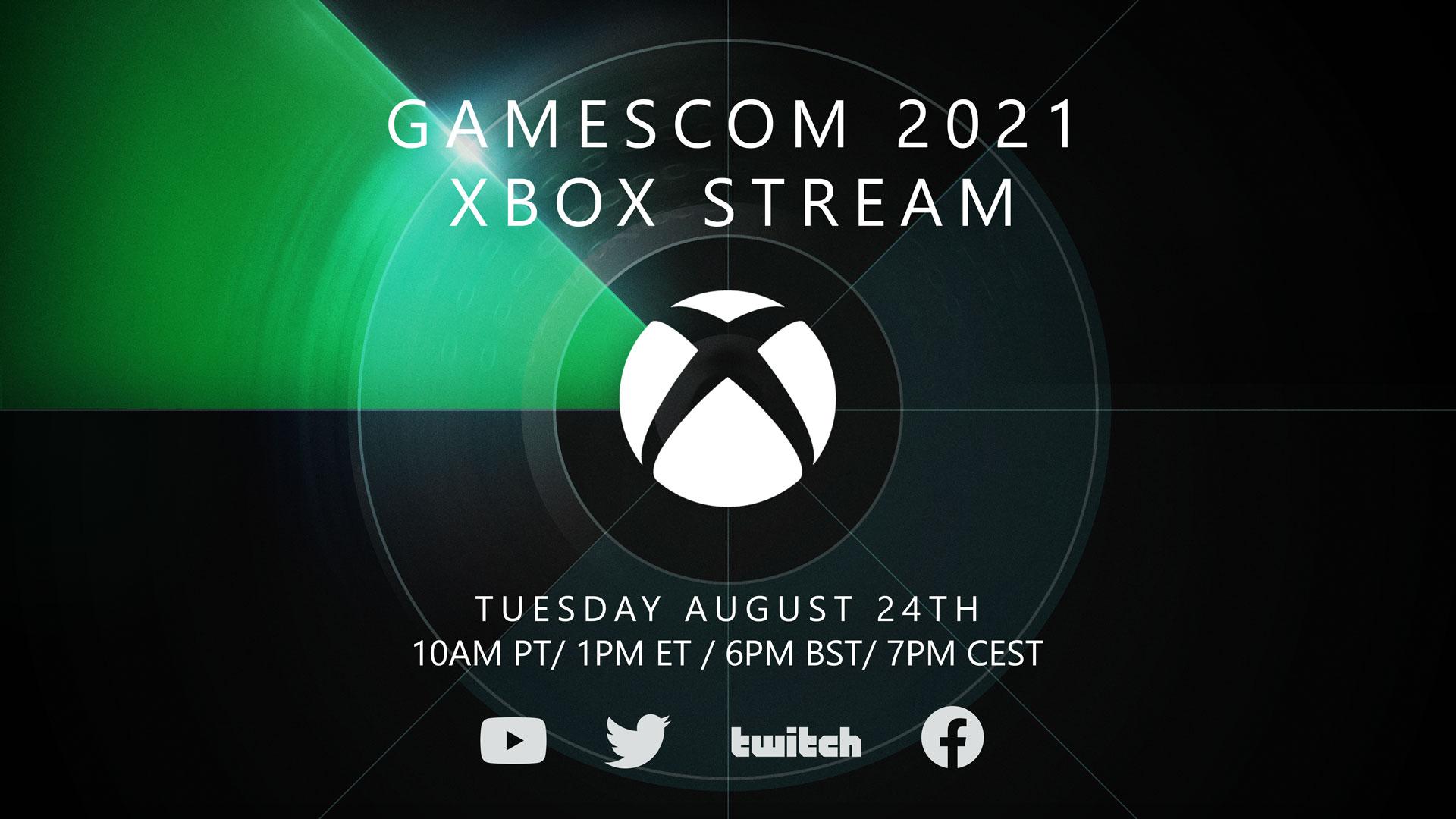 Gamescom 2021: annunciato l'evento di Xbox