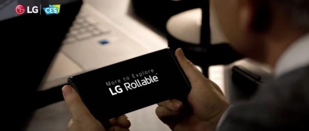 CES 2021: LG Presenta Rollable lo smartphone con schermo elasticizzato. Video