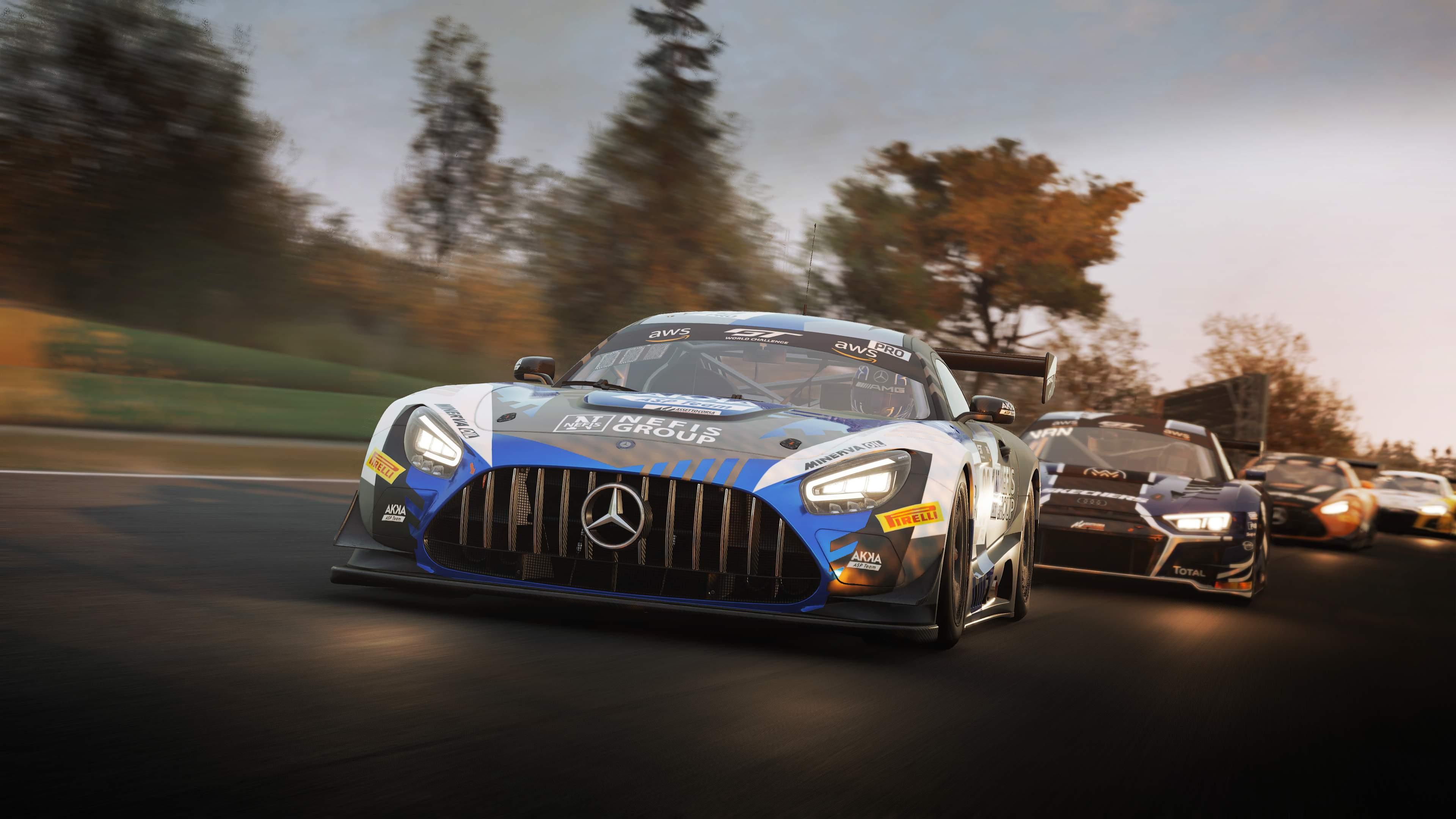 Assetto Corsa Competizione | Il DLC GT World Challenge è su Steam