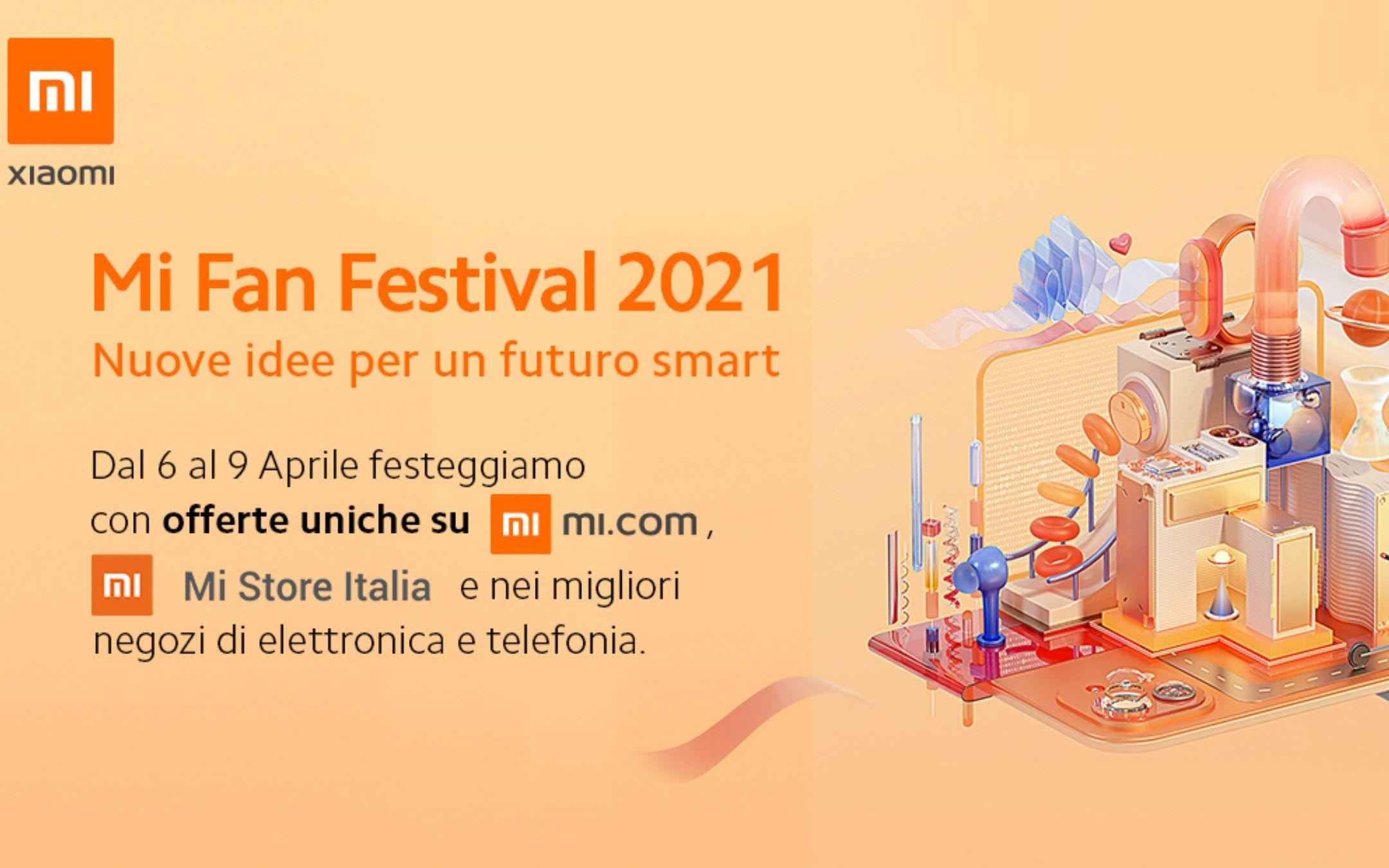 Inizia oggi il Mi Fan Festival 2021