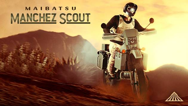 GTA Online: la Maibatsu Manchez Scout disponibile da Warstock Cache and Carry