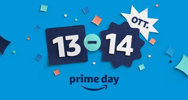 Prime Day torna il 13 e 14 ottobre con grandi offerte