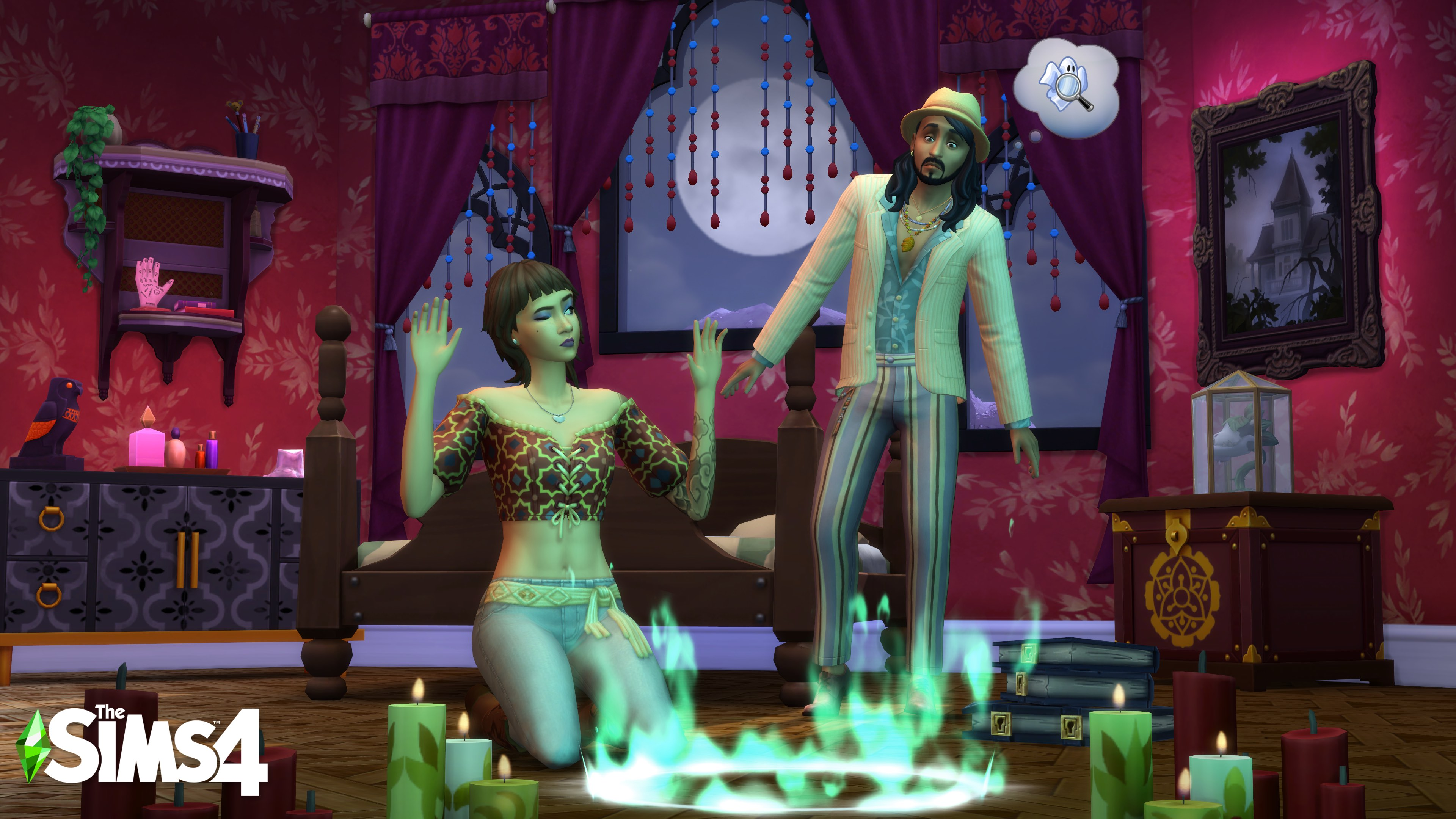 The Sims 4 Fenomeni Paranormali Stuff Pack disponibile