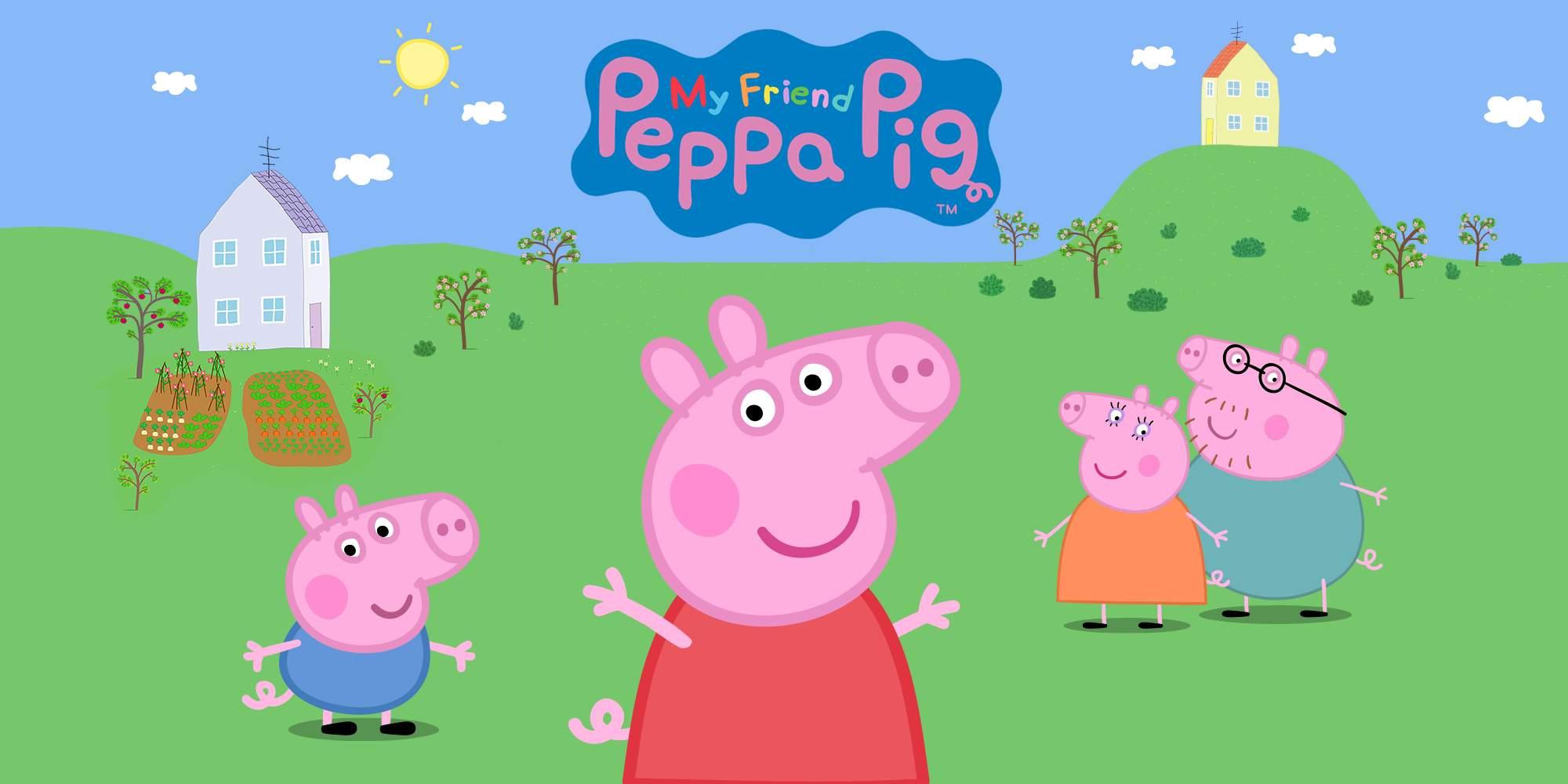 PEPPA PIG IL VIDEOGIOCO ARRIVA PER CONSOLE QUEST'AUTUNNO