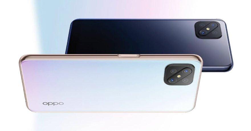 Oppo Reno4 Z 5G conveniente smartphone con schermo da 120 Hz
