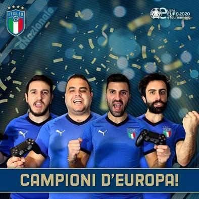 eFootball PES 2020: L'Italia è Campione d'Europa