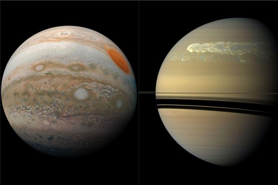 La Grande congiunzione tra Giove e Saturno, la prima in 800 anni
