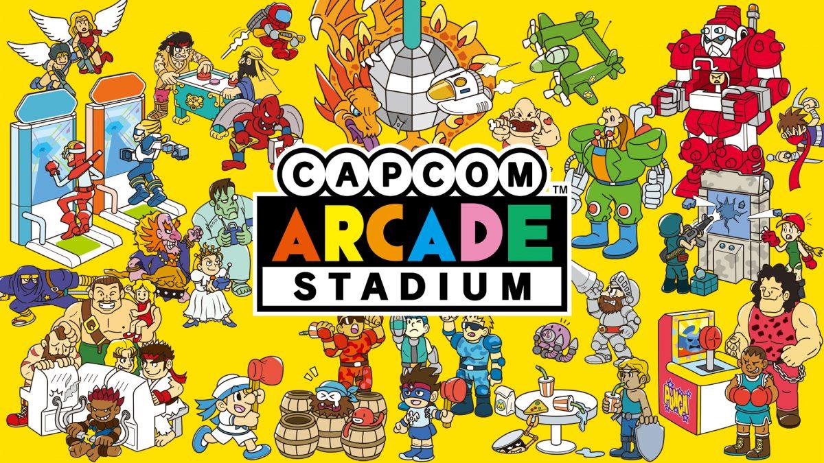 CAPCOM ARCADE STADIUM, DISPONIBILE SU PS4, XBOX ONE E STEAM