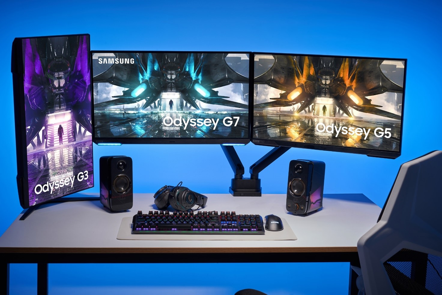 Samsung svela i monitor da gaming Odyssey 2021