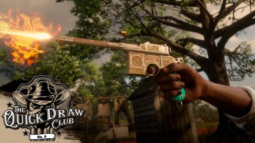 Red Dead Online: il Club del grilletto facile 4 è ora disponibile