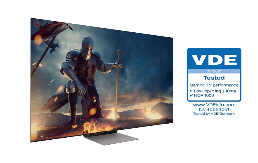 I TV Samsung Neo QLED ricevono la certificazione Gaming TV Performance