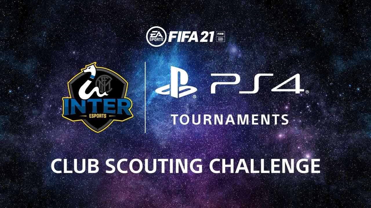 Inter e FIFA21 insieme per il torneo Club Scouting Challenge su PS4