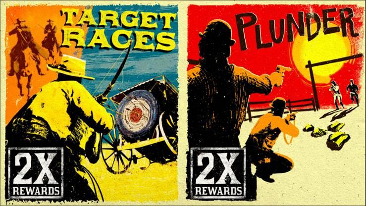Red Dead Online: metti alla prova la tua mira nelle Gare al bersaglio e Scorribanda