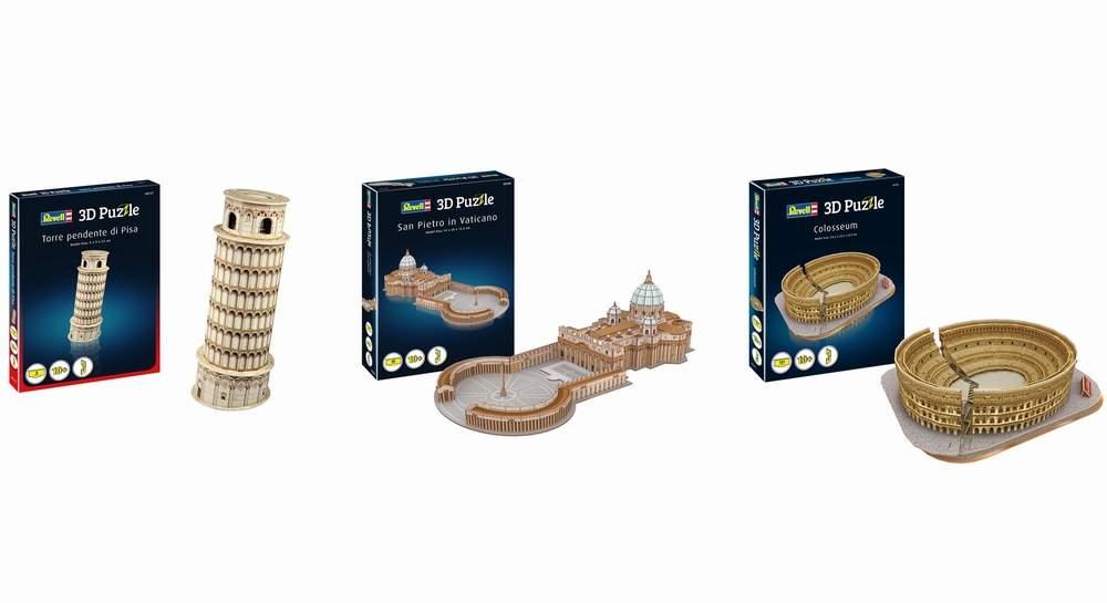 Revell presenta i suoi 3D Puzzle