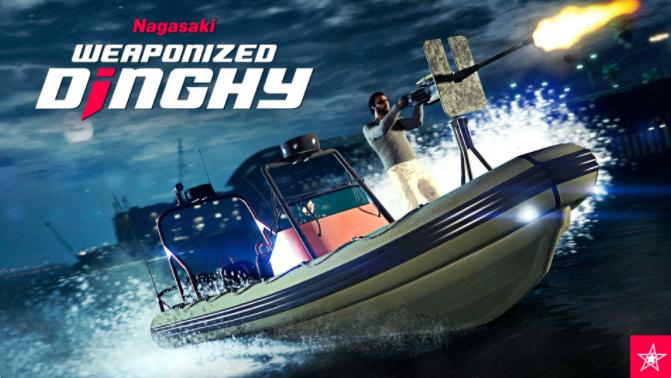 GTA Online: pattuglia le acque con il Nagasaki Dinghy armato