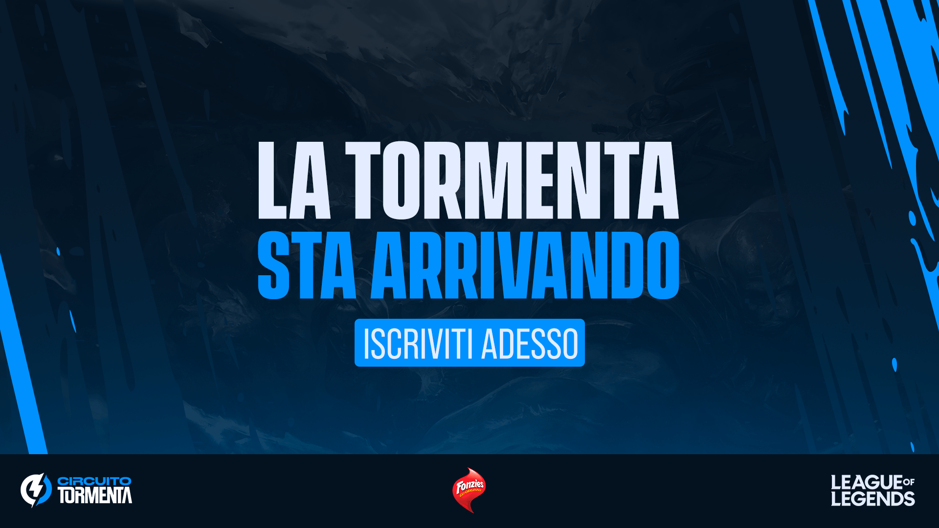 ARRIVA IN ITALIA IL CIRCUITO TORMENTA, LA COMPETIZIONE PENSATA PER TUTTI I FAN DI LEAGUE OF LEGENDS