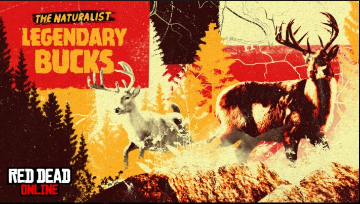 Red Dead Online – avvistati due cervi leggendari