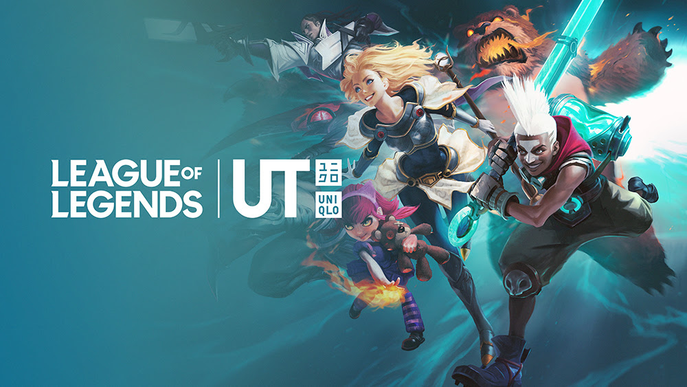 UNIQLO ANNUNCIA UNA NUOVA COLLABORAZIONE CON RIOT GAMES PER LEAGUE OF LEGENDS