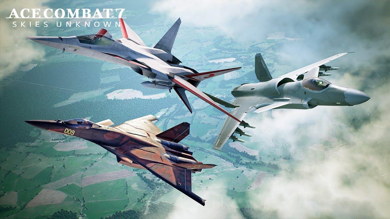 ACE COMBAT 7 SKIES UNKNOWN: in arrivo aerei sperimentali nel nuovo DLC