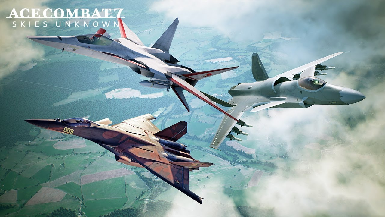 ACE COMBAT 7: DLC Experimental Aircraft Series disponibile