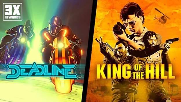 GTA Online: ricompense triple in Scia mortale e Re della collina