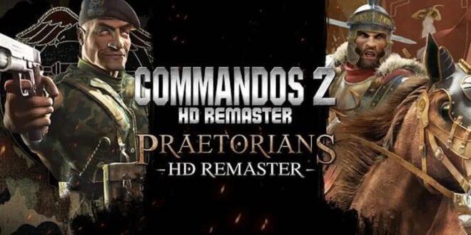 Commandos 2 e Praetorians Remaster disponibili