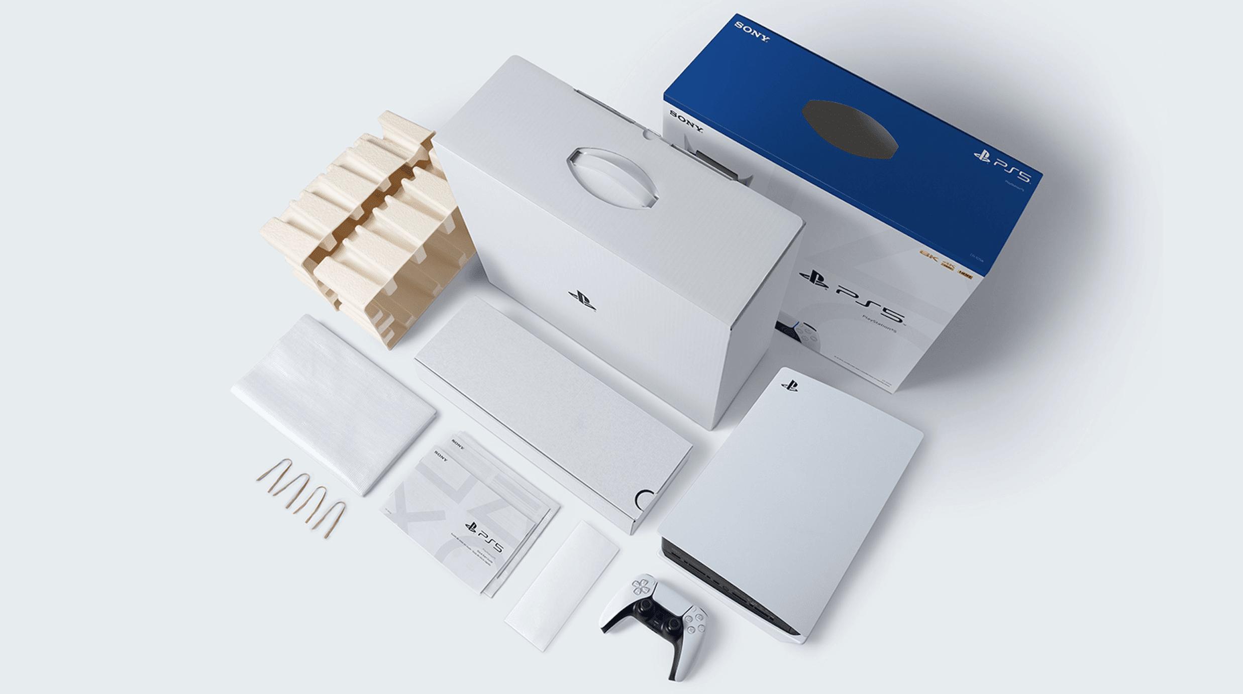 Il packaging di PS5 è completamente riciclabile