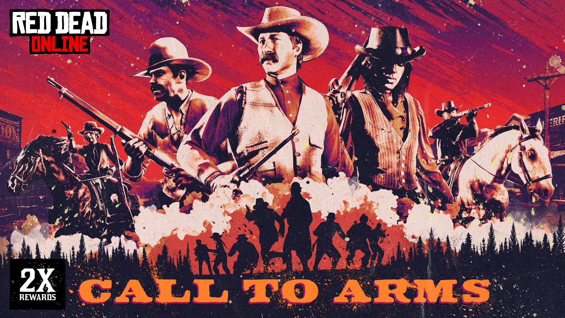 Red Dead Online: ricompense extra in Chiamata alle armi