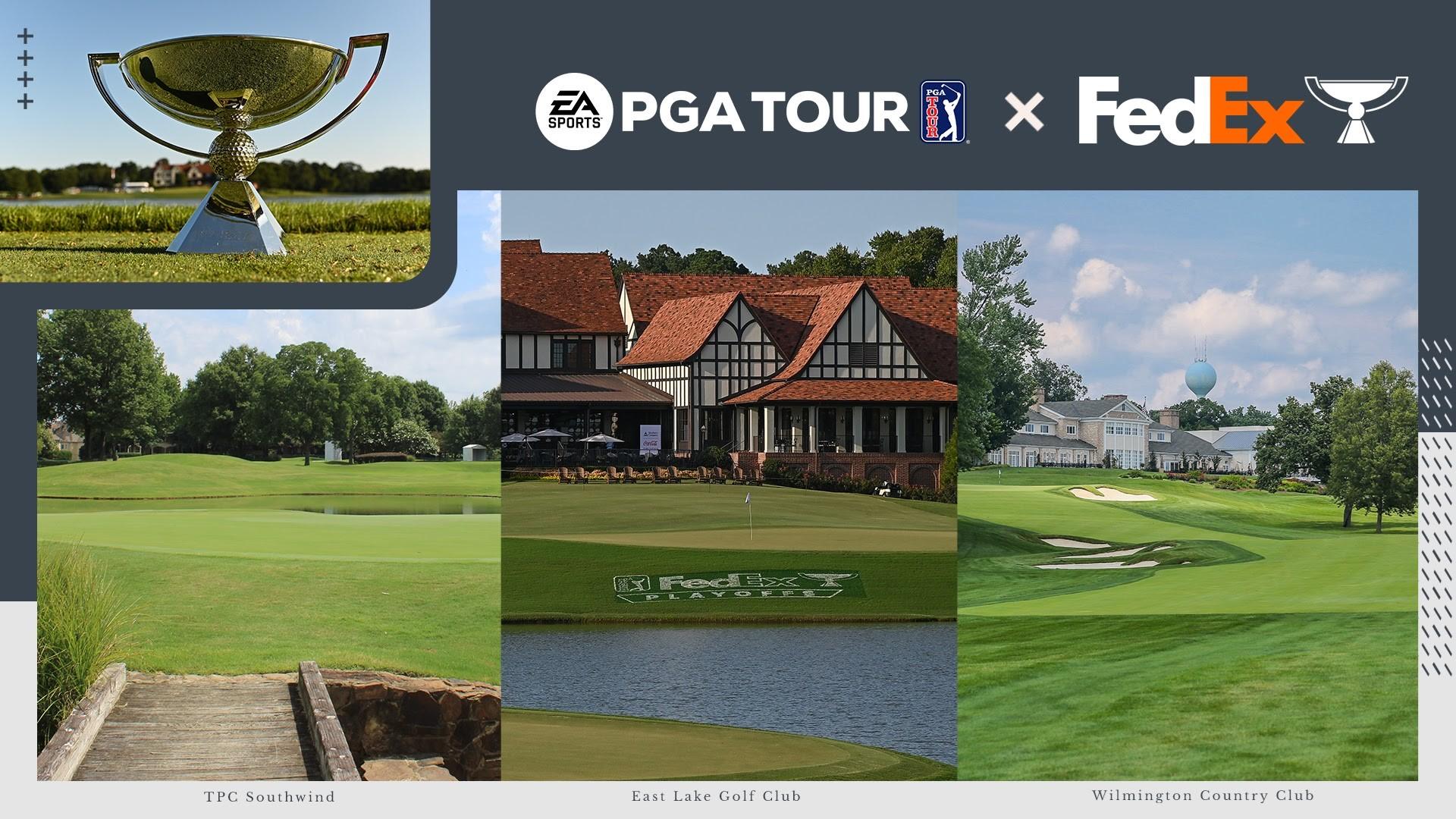 PGA TOUR DI EA SPORTS: AGGIUNTI I PLAYOFF FEDEXCUP
