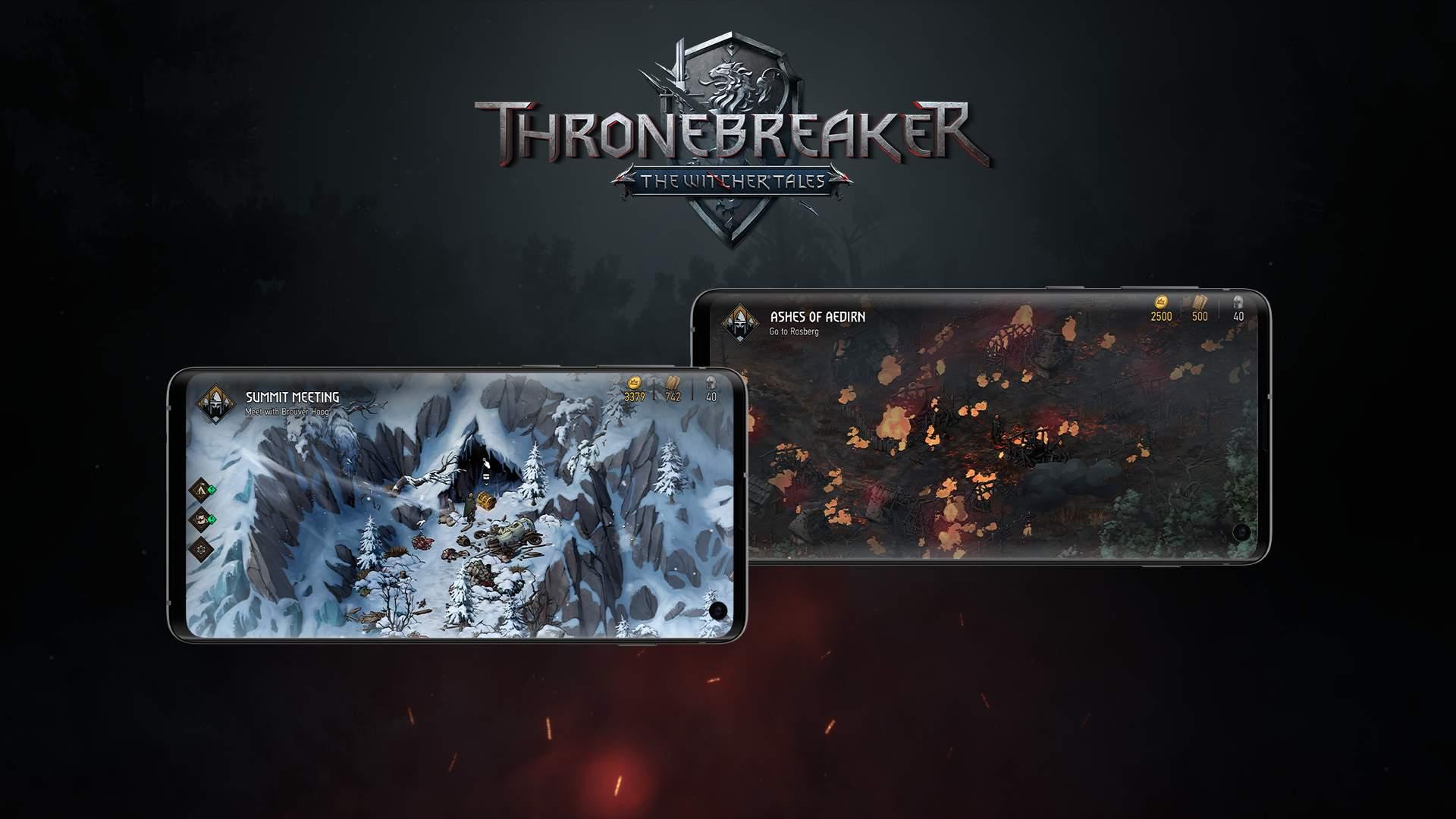 The Witcher Tales: Thronebreaker è disponibile su Android